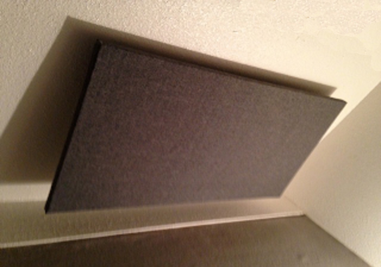 "Sloping Ceiling Acoustic Panel 4' X 2' X 1"" Box of 4"